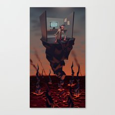 Pillar of Success Canvas Print