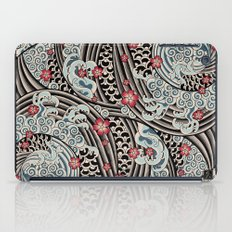 Waves of tradition iPad Case