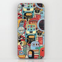 Two Monkeys In Town iPhone & iPod Skin