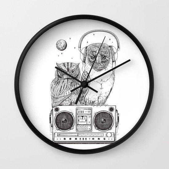 Silent Night ANALOG zine Wall Clock
