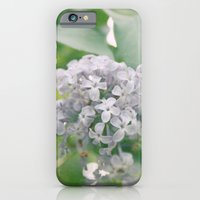 iPhone & iPod Case featuring Lilacs by angela haugland