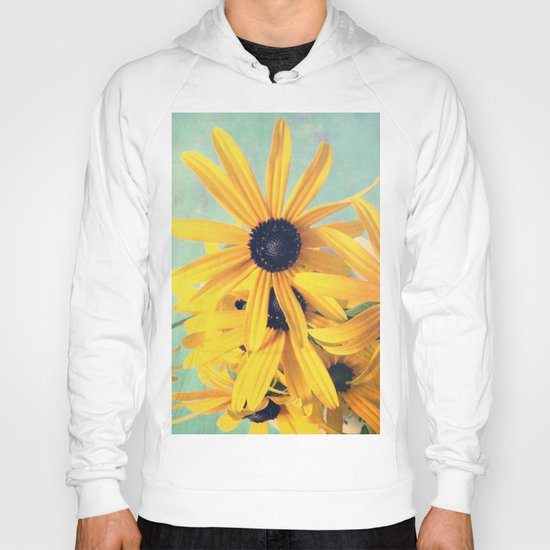 Sweet Yellow Flowers Hoody