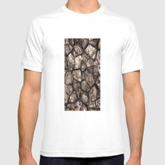 Stumbling Hazards Mens Fitted Tee White SMALL