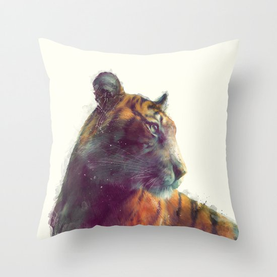 Tiger // Solace Throw Pillow