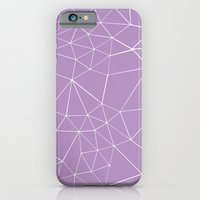 iPhone & iPod Case featuring Segment Zoom Orchid by Project M