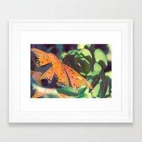 Autumn Spirit Flight Framed Art Print