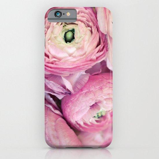 Pink Ranunculus iPhone & iPod Case