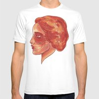 Woman (profile) Mens Fitted Tee White SMALL