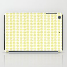 Yellow dots iPad Case