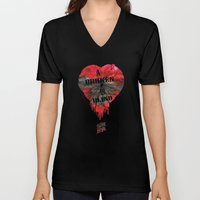 A Broken Heart Is Blind … Unisex V-Neck