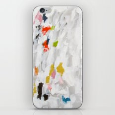No. 71 Modern Abstract Painting iPhone & iPod Skin