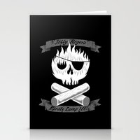 Pirate Camp Stationery Cards