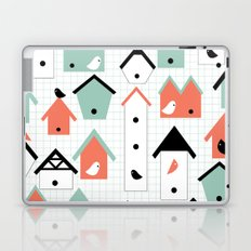 birds and houses Laptop & iPad Skin