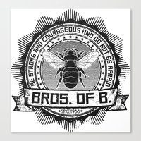 Bros. of B. Light Canvas Print