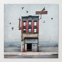 Urban Realty Canvas Print