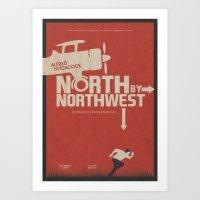 North By Northwest - Alf… Art Print