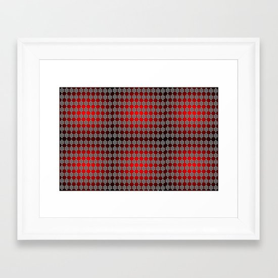 Intertwined Framed Art Print
