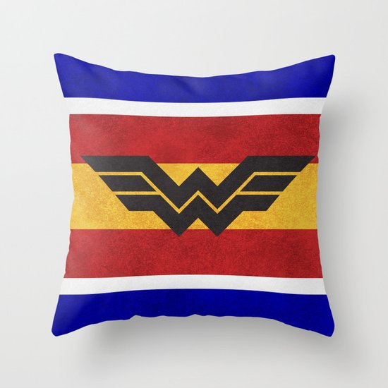 Wonderful Colors Throw Pillow