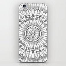 Flower Mandala iPhone & iPod Skin