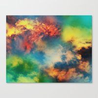 Cosmic Clouds Canvas Print