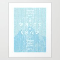 As White As Snow Art Print