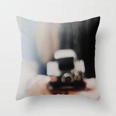 polaroid. Throw Pillow