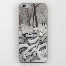 Let's Snow! iPhone & iPod Skin