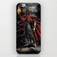 Epic Vincent Valentine Final Fantasy Painting Portrait iPhone & iPod Skin