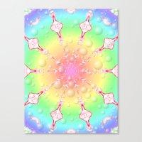 Sweet Rainbow Of Mine Canvas Print
