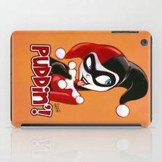 Cute Harley Quinn Sketch iPad Case