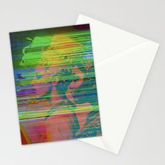 QUEENS GLITCH Stationery Cards