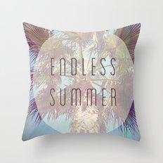 Endless Summer Throw Pillow
