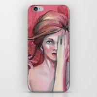 Strawberry Flirt iPhone & iPod Skin