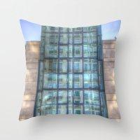 SIS Secret Service Building London Throw Pillow