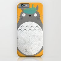 iPhone & iPod Case featuring Homenaje a Totoro by Marco Recuero