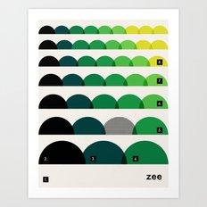 Coloradore 009 Art Print