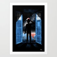 It's Bigger on the Outside Art Print