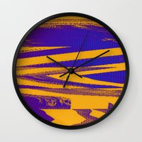 Digital Died/Mustard Jam Wall Clock