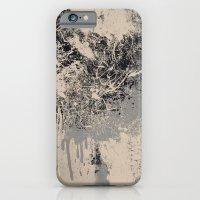 The Meltdown (B&W) iPhone 6 Slim Case