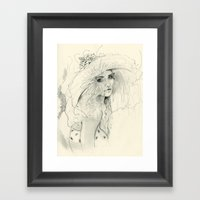 Summer Child Framed Art Print