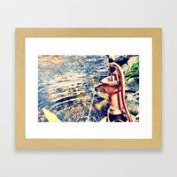 waterfountain Framed Art Print