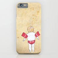 iPhone & iPod Case featuring Would the next Michael Phelps please stand up? by kubaart
