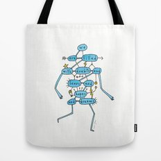 doubts and fears and hopes and dreams Tote Bag