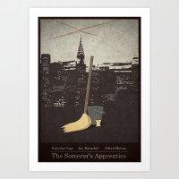 The Sorcerer's Apprentic… Art Print