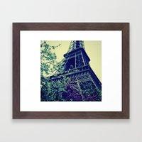 Paris, Paris Mon Amour! Framed Art Print