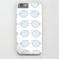 iPhone & iPod Case featuring Glasses by just_cortni