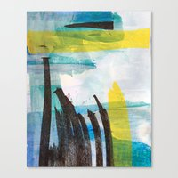 Little Reeds Canvas Print