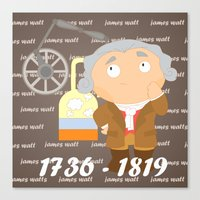 James Watt Canvas Print