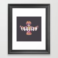 Jester Framed Art Print