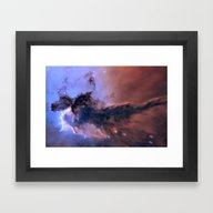 Eagle Nebula Framed Art Print
